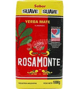 Rosamonte Yerba mate sabor suave 1 kg