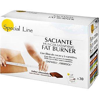 Special Line Saciante quema grasa sabor chocolate en sobres estuche 30 unidades Estuche 30 unidades