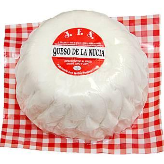 J.F.S. Queso fresco de La Nucia 2 kg peso aprox. pieza