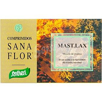Santiveri Sanaflor Mast.Lax mezcla de plantas para regular el tránsito intestinal envase 60 comprimidos