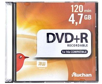 AUCHAN DVD+R 16X Pack 5