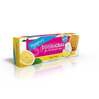 Bicentury Devoragras Galletas de yogur al limon ricas en calcio y fibra  envase 168 g