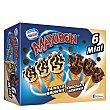 Cono mini 3+3 Vainilla-Choc y Brownie Pack 6 x 60 ml Maxibon Nestlé