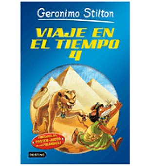 STILTON Viaje en el tiempo 4 (gerónimo )