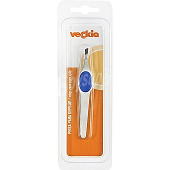 Veckia Pinza ergonómica para depilar blister 1 unidad