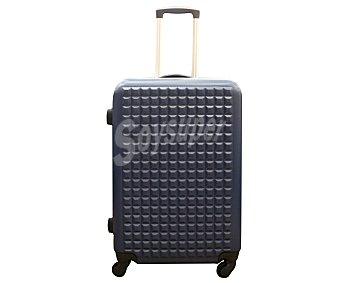 IN EXTENSO Maleta Trolley rígido 70cm de 4 ruedas abs, rígida, color azul 1 unidad