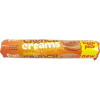 Fox´s Crunch Creams Golden galleta rellenas paquete 200 g paquete 200 g