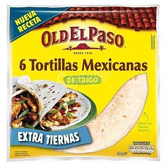 Old El Paso Tortilla trigo  6 ud (244g)