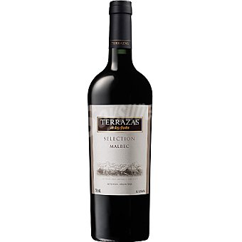 TERRAZAS DE LOS ANDES Vino tinto Selección Malbet Argentina Botella 75 cl