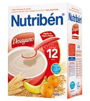 Nutribén Papilla Desayuno Trigo y Fruta 900 g