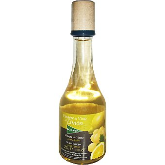 El Corte Inglés Vinagre de vino Albariño al limón Botella 250 ml
