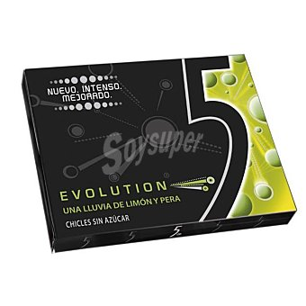 Five Chicles evolution sin azúcar 31 g
