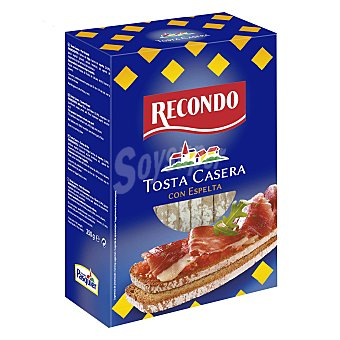Recondo Tosta casera con espelta Estuche de 250 g