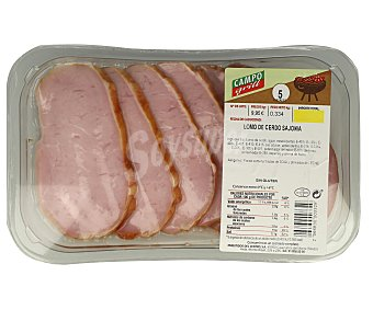 CAMPOGRIL Cinta de lomo de cerdo sajonia, sin gluten 380 Gramos