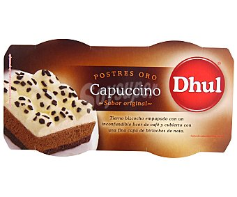Dhul Postres oro capuccino Pack 2x80 grs