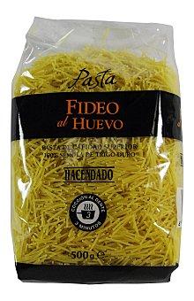 Hacendado Fideo al huevo pasta Paquete 500 g
