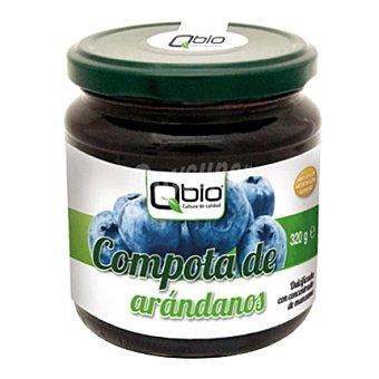Qbio Compota de arandano bio sin gluten 320 g