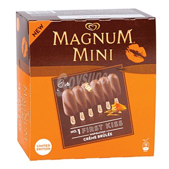 Magnum 5 kiss mini creme brulee 6 X 50 ML