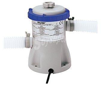 BESTWAY Depuradora de cartucho con potencia de 1249 litros/hora, ideal para piscinas desmotables de tamaño pequeño 1 unidad