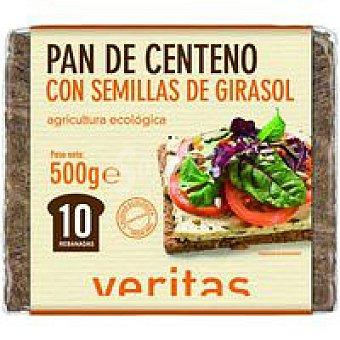 Veritas Pan de centeno-pipa Paquete 500 g