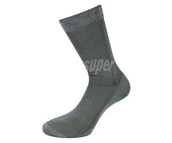 In Extenso Calcetín de hilo de Escocia, color gris, talla 39/42