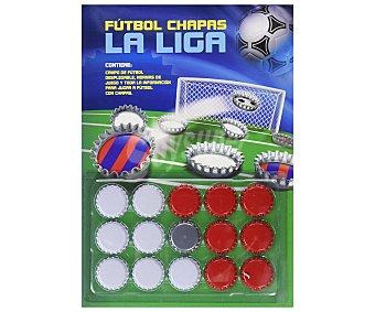 S.L. medialive content Fútbol: Chapas La Liga, VV.AA. Género: Infantil. Editorial: MEDIALIVE