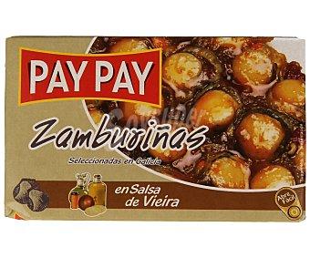 PAY PAY Zamburiñas en salsa vieira 60 gramos