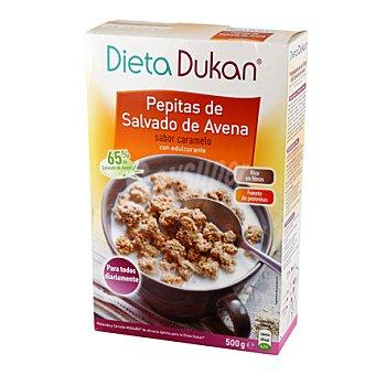 Dukan Pepitas de salvado de avena sabor caramelo 500 g