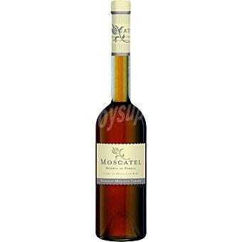 Moscatel reserva de la familia vino blanco dulce 100% moscatel de Alejandría botella  50 cl