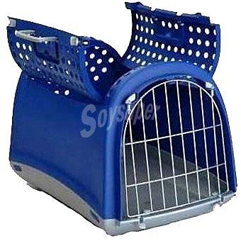 San Dimas Transportín para mascotas modelo Linus Cabrio medidas 50x32x34,5 cm 1 unidad 1 unidad