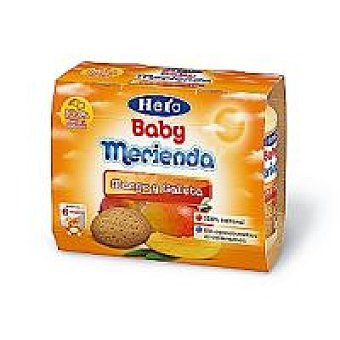 Hero Baby Tarrito de mango-galleta pack 2x200 g