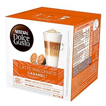 Dolce Gusto Nescafé Café espresso caramel (caramelo) en cápsulas 16 uds