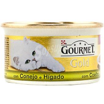 Purina Gourmet Alimento de conejo-hígado Gold Tarrina 85 g