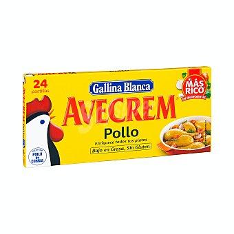 Gallina Blanca Avecrem pollo Estuche 24 pastillas