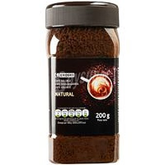 Eroski Café soluble natural frasco 200 g