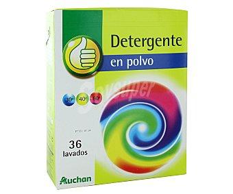 Productos Económicos Alcampo Detergente en polvo para lavadora 36 lavados