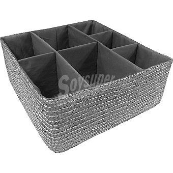 CIE RAN4753 Organizador interior de 7 huecos en color plata