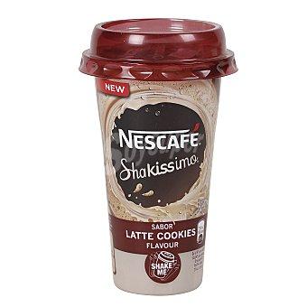 Nescafé Shakissimo Bebida de café con leche sabor cookies Vaso 190 ml