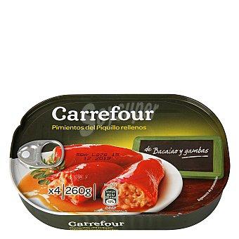Carrefour Pimientos del Piquillo rellenos de bacalao 260 g
