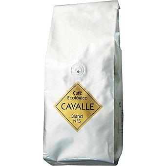 Cavalle Café natural ecológico en grano Paquete 500 g