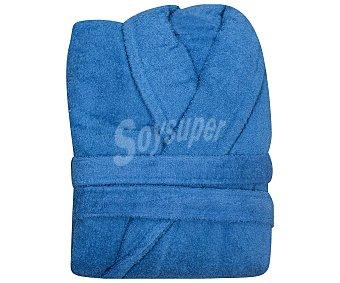 Actuel Albornoz adulto talla S 100% algodón color azul, /m², actuel 380 g
