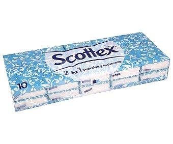 Scottex Pañuelos de celulosa desechableS. paquetes 10 ud