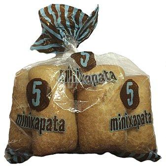 Mercadona Pan chapata mini 5 unidades (500 g)