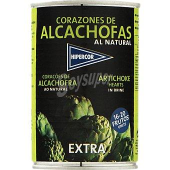 Hipercor Corazones de alcachofas 16-20 piezas Lata 240 g neto escurrido