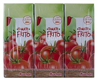 Auchan Tomate frito Brik 3 unidades
