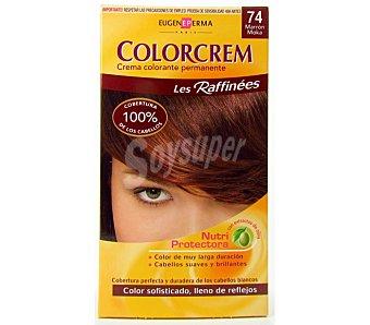 Colorcrem Tinte marrón N.74 Caja 1 unid