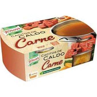 Knorr Cacito de caldo de carne Caja 80 g