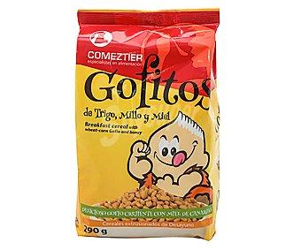 Comeztier Cereales de gofio con trigo, millo y miel Gofitos 290 g