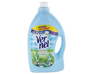 Vernel suavizante concentrado Cielo Azul con perlas perfumadas botella 130 dosis