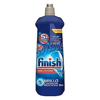 Finish Abrillantador de lavavajillas brillo y protección  Botella de 800 ml